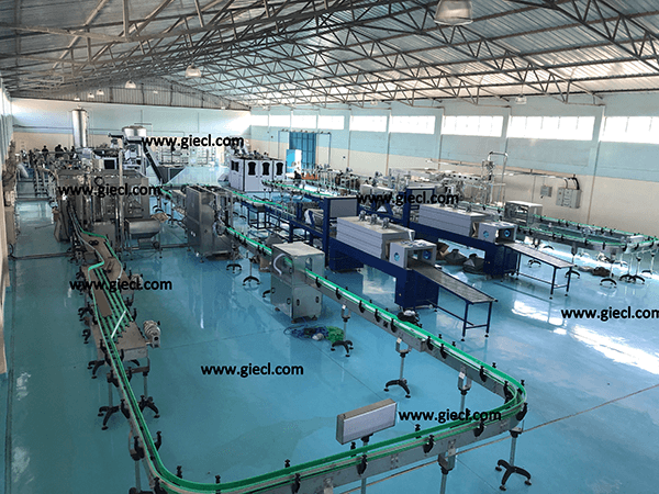 Turnkey Mineral Bottling Water Project, India