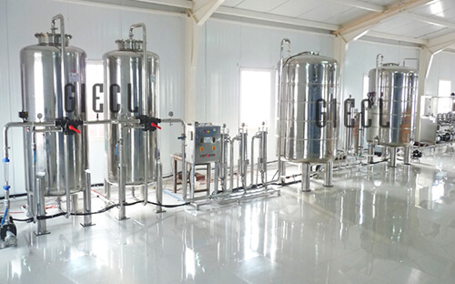 Mineral Water Project Information - Drinking Water Treatment Plant - India, Gujarat